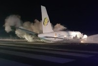 Passenger jet overshoots runway in Guyana, 6 injured