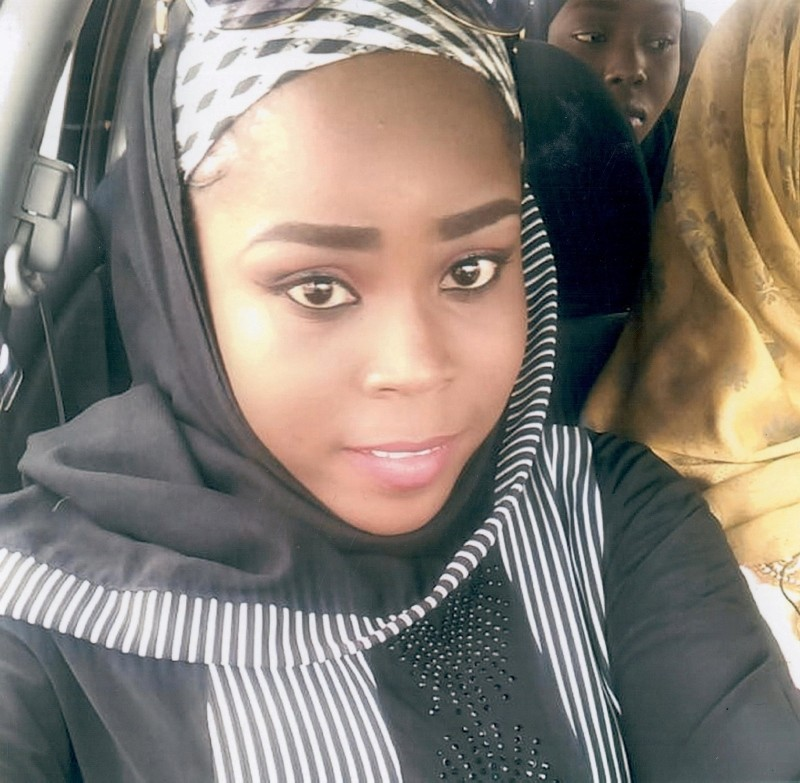 Medical worker Hauwa Mohammed Liman, who was held hostage by Boko Haram militants in Nigeria since March, is pictured in this handout photograph obtained by Reuters on October 14, 2018. (Reuters Photo)