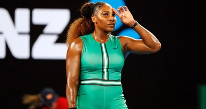 Strong start, finish lift Serena past Bouchard
