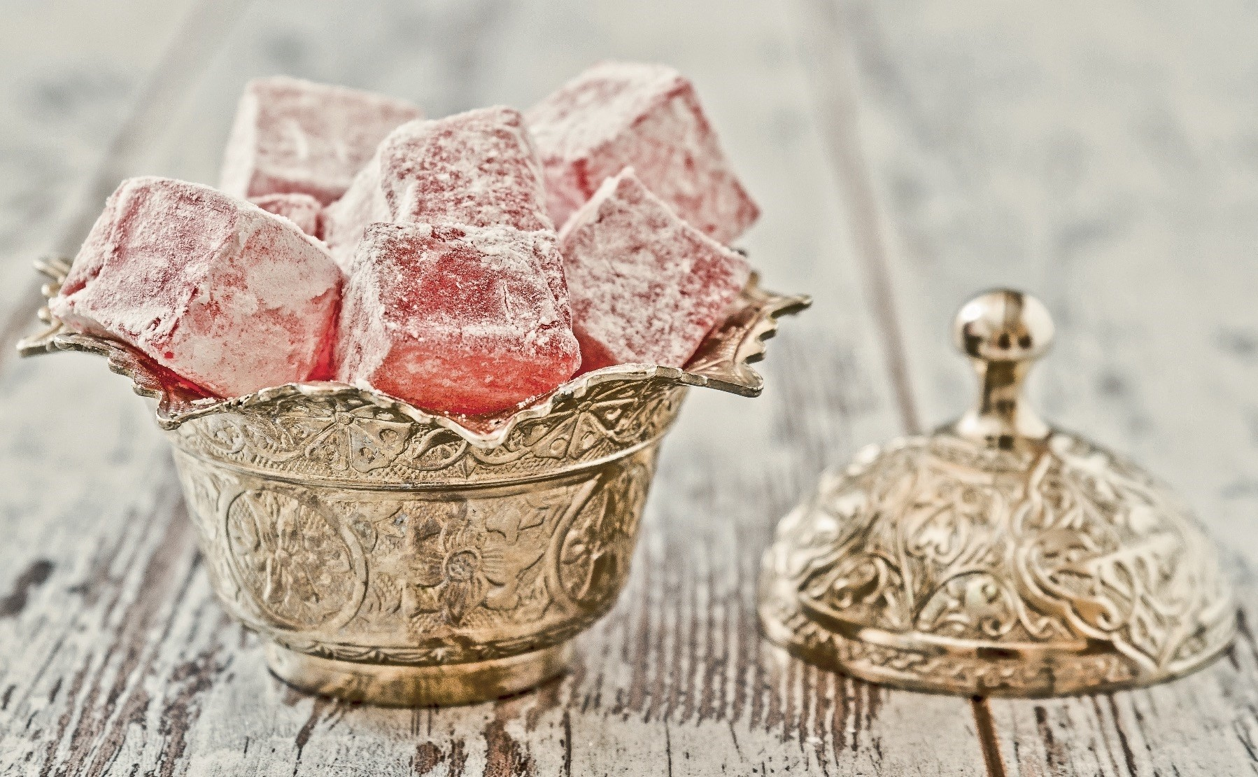 Turkish delight was first eaten in the 18th century.