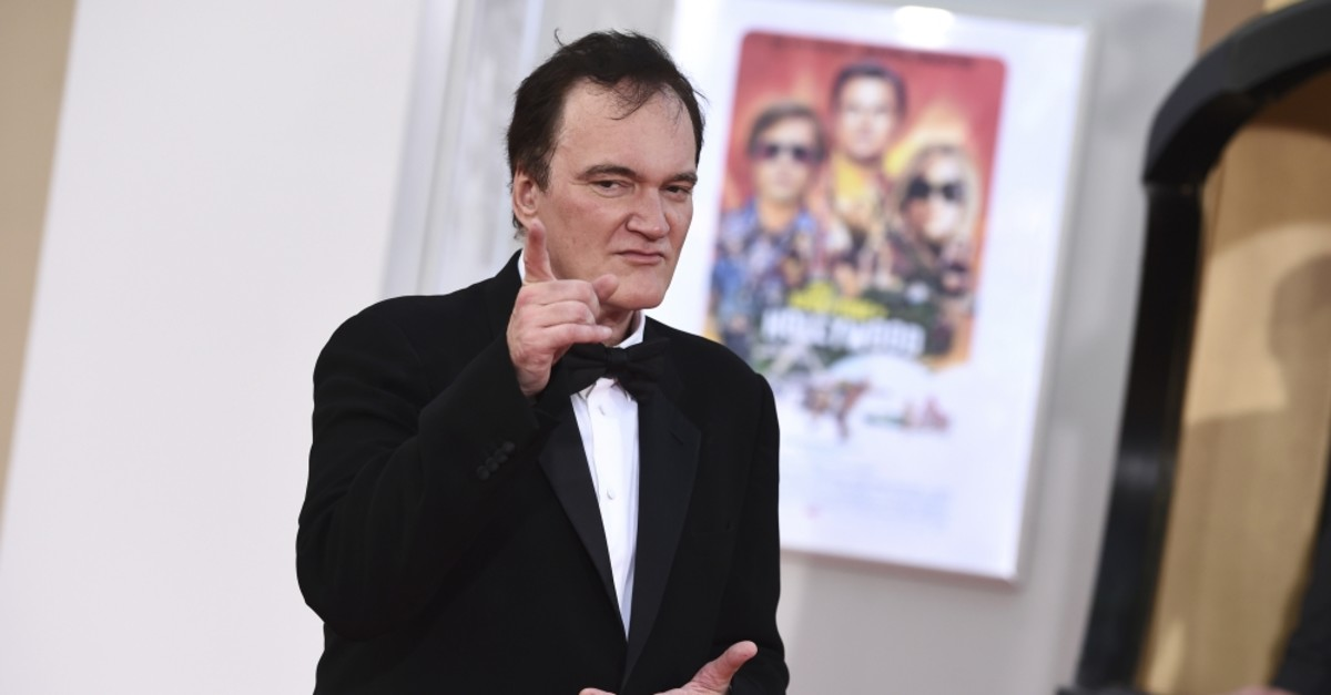 Director Quentin Tarantino at the Los Angeles premiere of ,Once Upon a Time in Hollywood,, on July 22, 2019.
