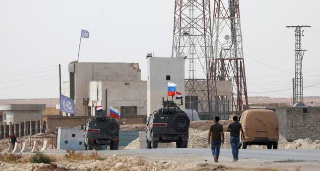 Russia's military police cross Euphrates, head for northern Syria's Ayn al-Arab