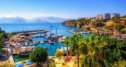 Turkey's tourism capital Antalya boasts 41 direct flights to 13 countries