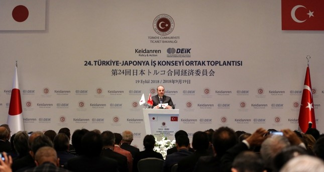 تركيا تخطط لتوقيع اتفاقية تجارة حرة مع اليابان في 2019