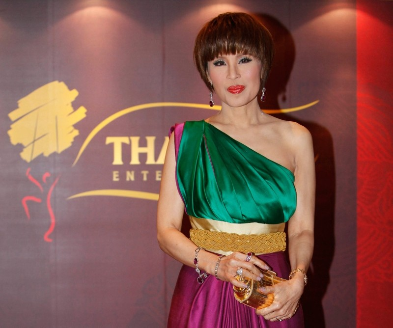 In this March 24, 2010, file photo, Thai Princess Ubolratana poses for a photo at the Thai Gala Night in Hong Kong. (AP Photo)