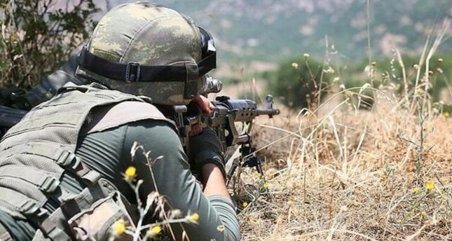 الدفاع التركية: تحييد 16 إرهابيا من تنظيم ي ب كا شمالي سوريا