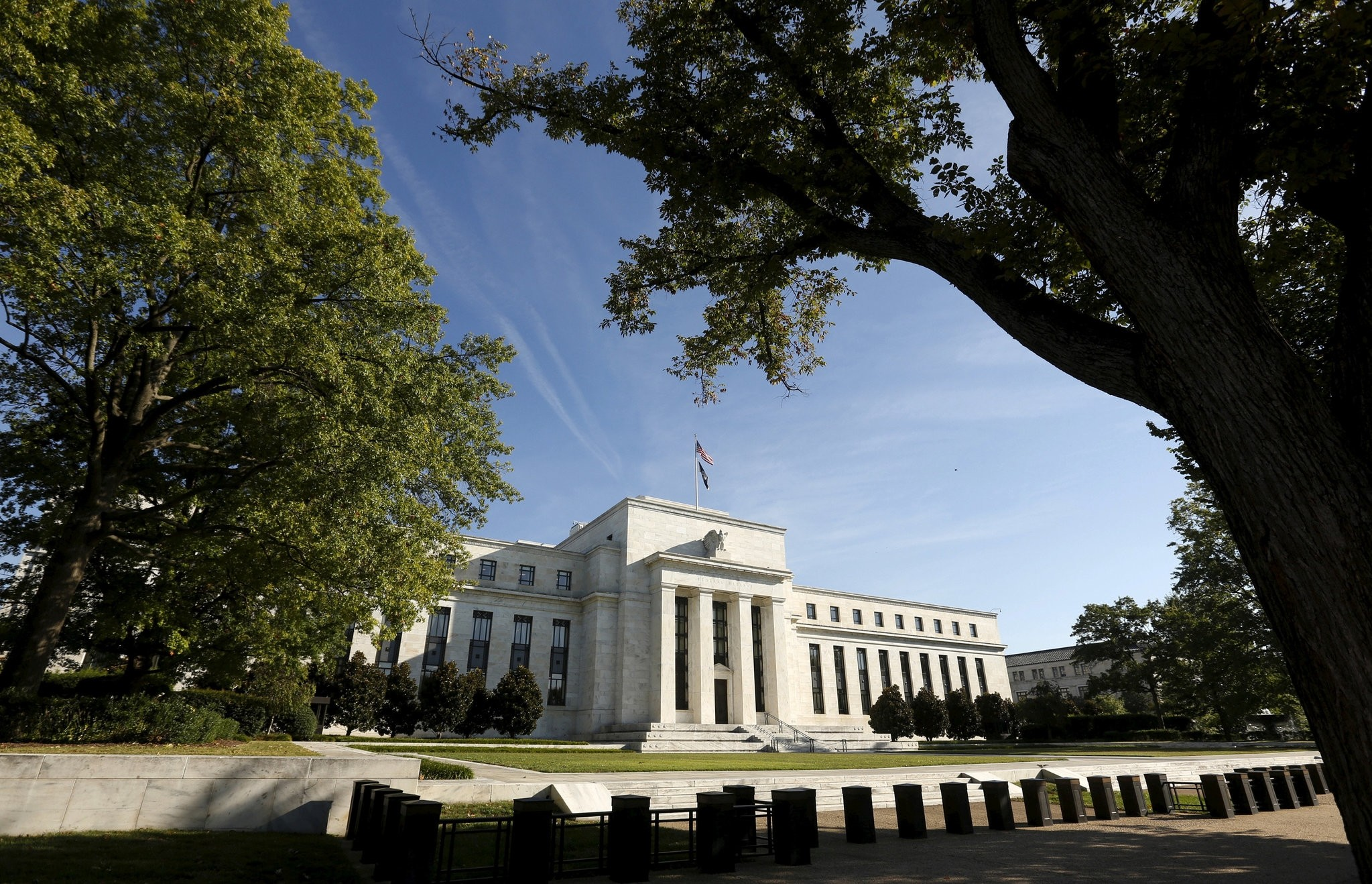 The Federal Reserve headquarters in Washington September 16 2015. (Reuters Photo)
