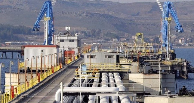 A general view of Turkey's Mediterranean port of Ceyhan, which is run by the state-owned Petroleum Pipeline Corporation (BOTA?), some 70 kilometers from Adana, Feb. 19, 2014. (Reuters Photo)