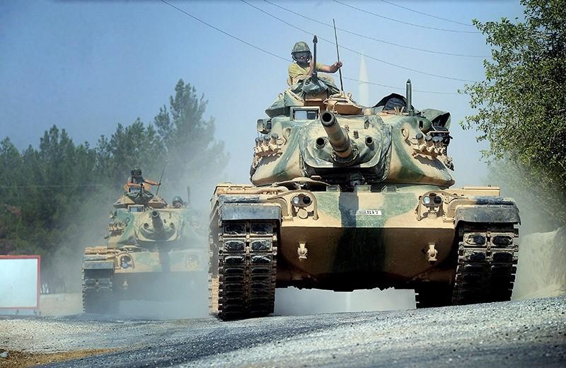 Turkish tanks enter Syria. (File Photo)