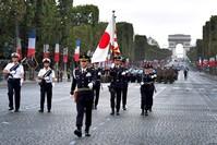 من الاحتفالات بالعيد الوطني الفرنسي (من الأرشيف)