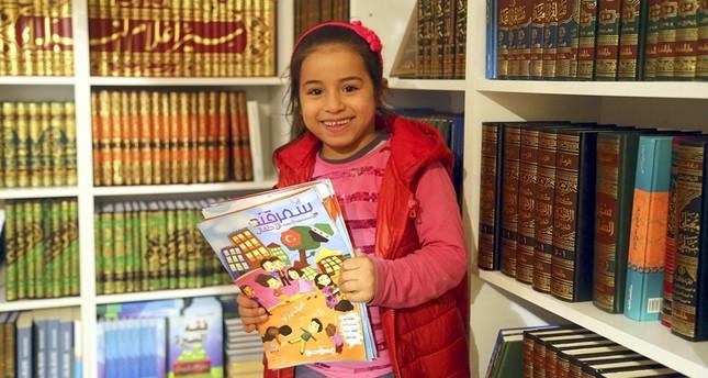 تنوع قصص الأطفال يستقطب زوار معرض اسطنبول الدولي للكتاب العربي