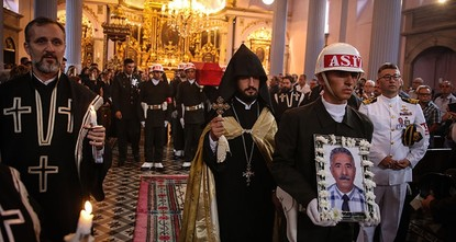pA funeral ceremony was held in Istanbul's Meryem Ana (Virgin Mary) Armenian Church Tuesday for a veteran of Armenian descent who fought in the ranks of the Turkish Armed Forces during the 1974...