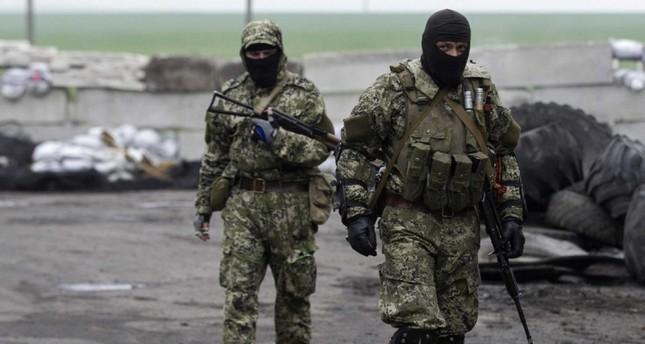 انفصاليون في شرق أوكرانيا (من الأرشيف)
