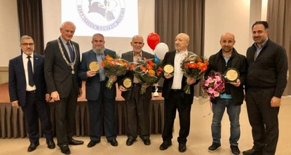 4 Turks awarded for mosque project in Netherlands