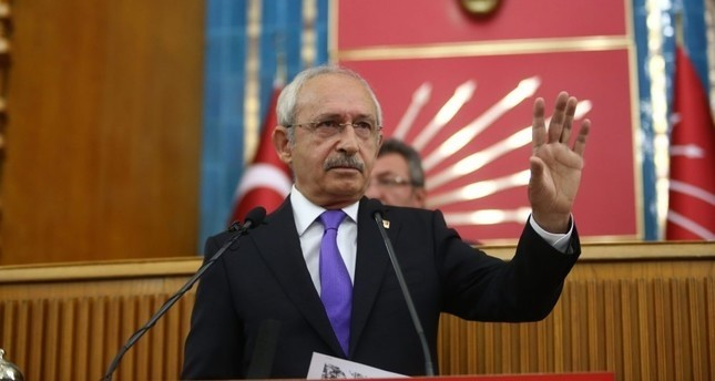Republican Peopleu2019s Party (CHP) Chairman Kemal Ku0131lu0131u00e7darou011flu