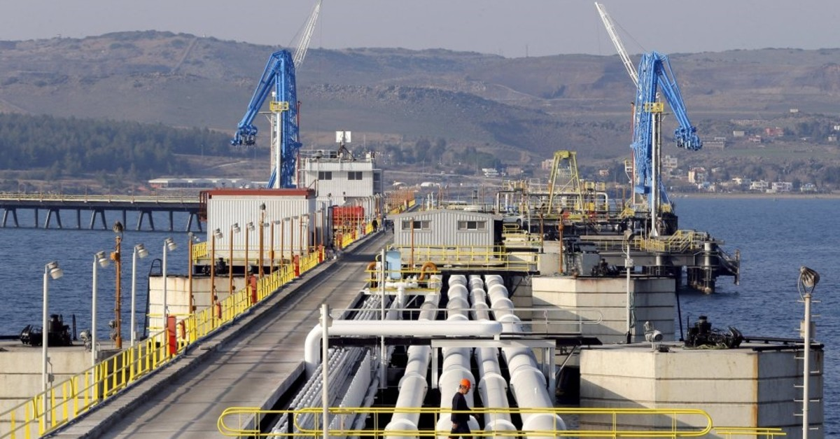 A view of Turkey's Mediterranean port of Ceyhan, which is run by state-owned Petroleum Pipeline Corporation (BOTAu015e), some 70 kilometers from Adana.