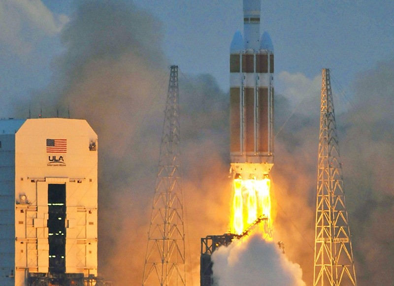A Delta 4 rocket lifts off from from Cape Canaveral, Florida, on December 5, 2014 carrying NASA's Orion spacecraft on its first test flight (AFP File Photo)
