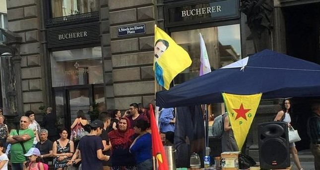 Austria allows terror group PKK supporters to set up tent in central Vienna