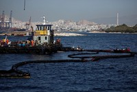 Cleanup crew in Greece oil spill arrested on fuel smuggling charges