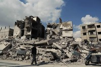 Assad regime forces advance in Syria's Ghouta, monitor says