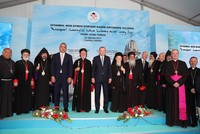 Istanbul's new Syriac church to be completed in 2 years, Erdoğan says
