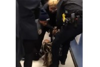 US police spark fury after trying to rip toddler from mother's arms