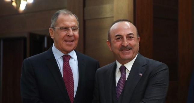 Turkish, Russian FMs hold talks ahead of Erdoğan's trip