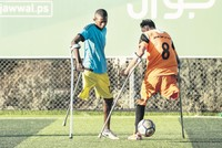 Turkish amputees' success inspires Gazan players on football pitch