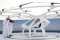 Dubai on Monday showcased a flight for what it said would soon be the world's first drone taxi service under an ambitious plan by the United Arab Emirates city to lead the Arab world in...