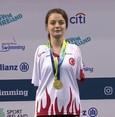 السباحة التركية سمية بوياجي تحقق فضية بطولة العالم للسباحة البارالمبية