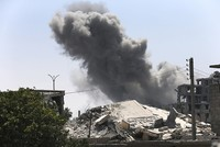 The number of civilians killed by the U.S.-led coalition fighting the Daesh terror group in Iraq and Syria tripled in 2017, as battles raged in terrorist-held urban areas, a monitor said...