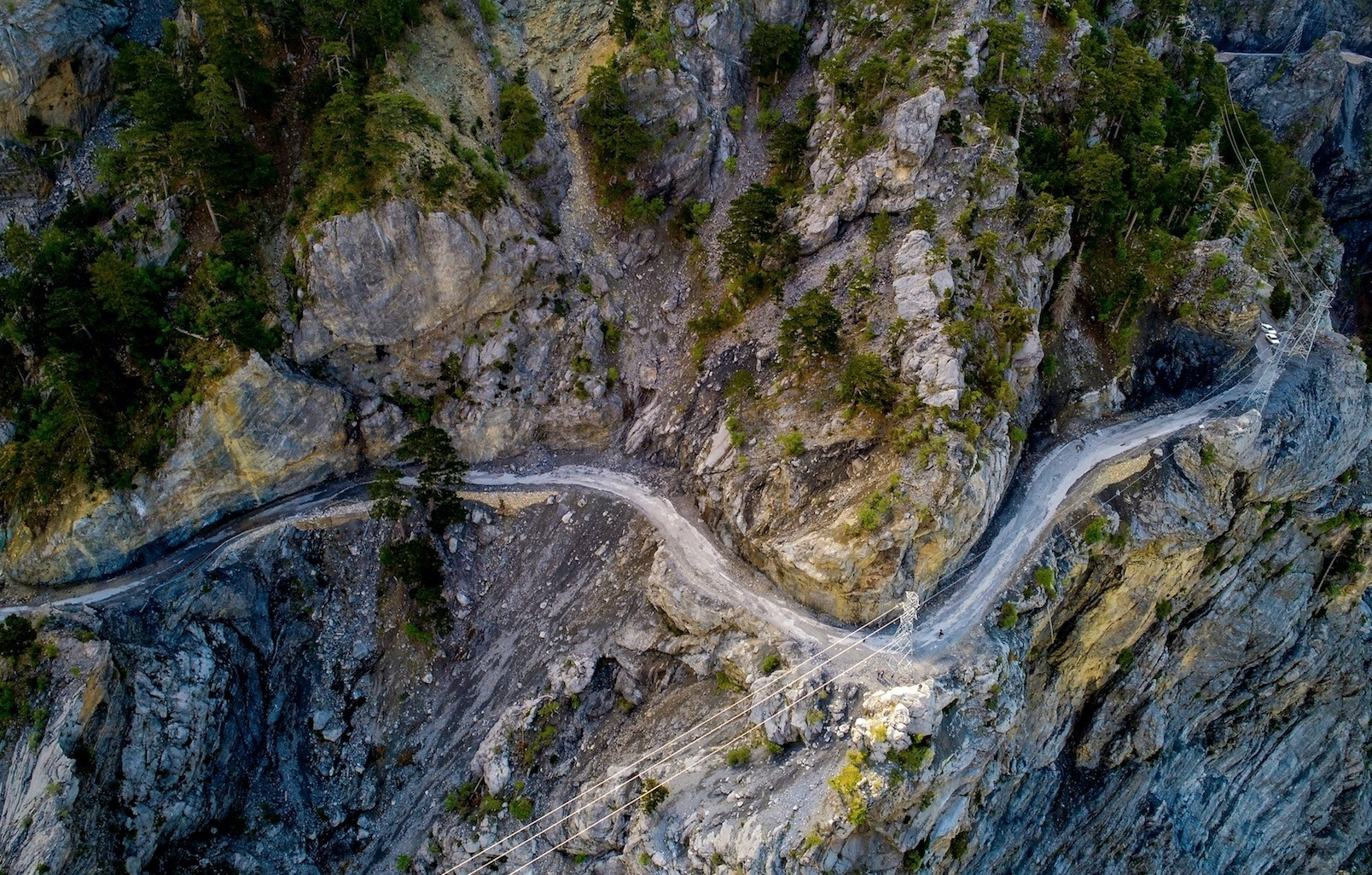 Twenty tunnels are planned for the road snaking through Toros mountains.