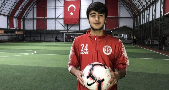 Syrian-Turkish footballer dreams of national team