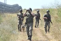 دورية للجيش التركي على الحدود مع بلغاريا (DHA)