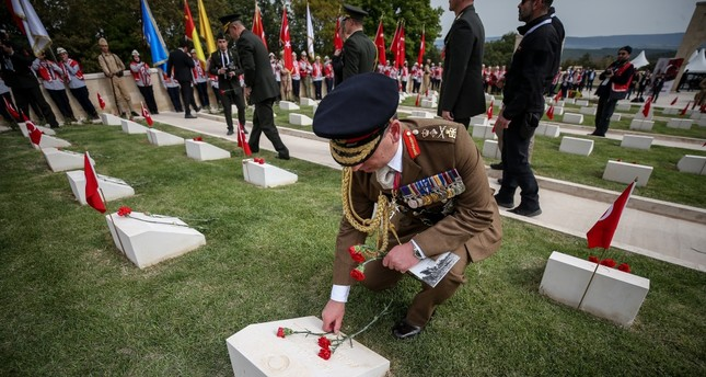 Grief, unity at 104th anniversary of World War I campaign