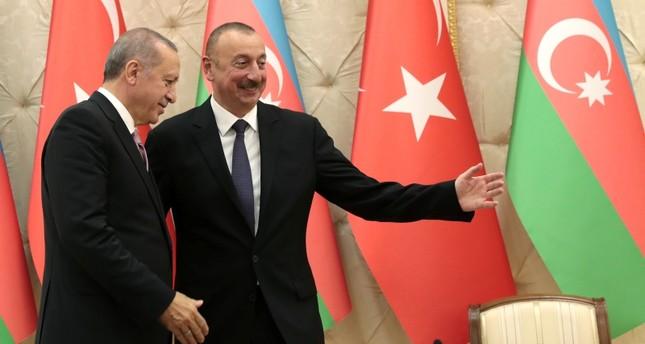 أردوغان من باكو: تركيا ضاعفت صادراتها الدفاعية للدول الصديقة والشقيقة