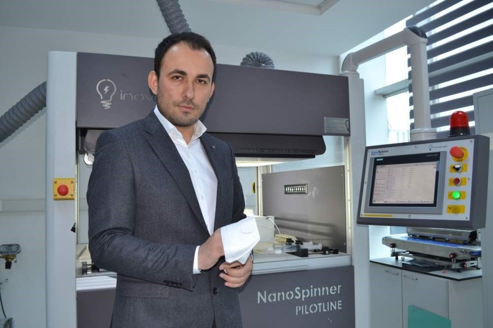 Faik M?d?k (pictured) is the CEO of Inovenso Inc. (AA Photo)