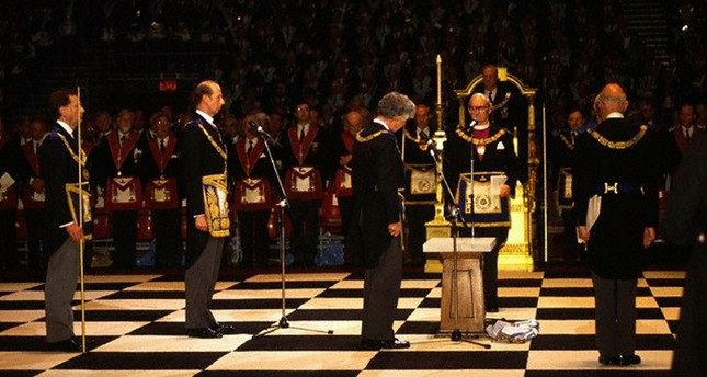 Prince Edward, The Duke of Kent at a Masonic ceremony at Earls Court in London. (File photo / Image by © Stuart Freedman/In Pictures/Corbis)