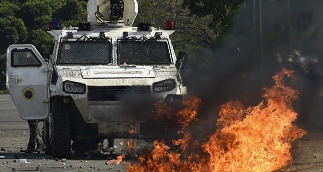 من أحداث الشغب في فنزويلا من الأرشيف