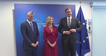 pThe EU confirmed on Monday that Serbia and Kosovo have agreed to work on a new phase of dialogue for normalization./p  pEU foreign policy chief Federica Mogherini said Serbian President...