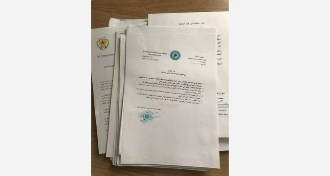 Racist, Islamophobic PYD order discovered in former Afrin HQ after liberation by FSA, Turkish army
