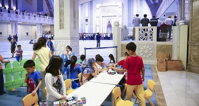 Children-friendly mosques to become more common across Turkey
