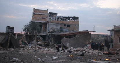 Hospitals in Idlib built around mountains amid intensified airstrikes