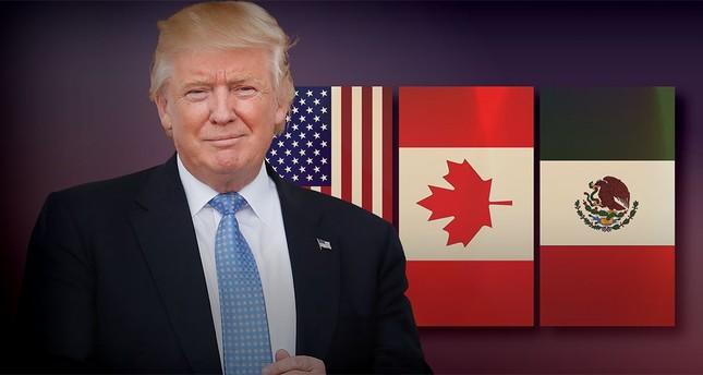 ترامب يسدد ضربة جديدة إلى نافتا ويدعو لتوقيع اتفاقين منفصلين مع كندا والمكسيك