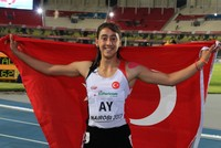 Young athlete Mizgin Ay breaking records 1 race at a time