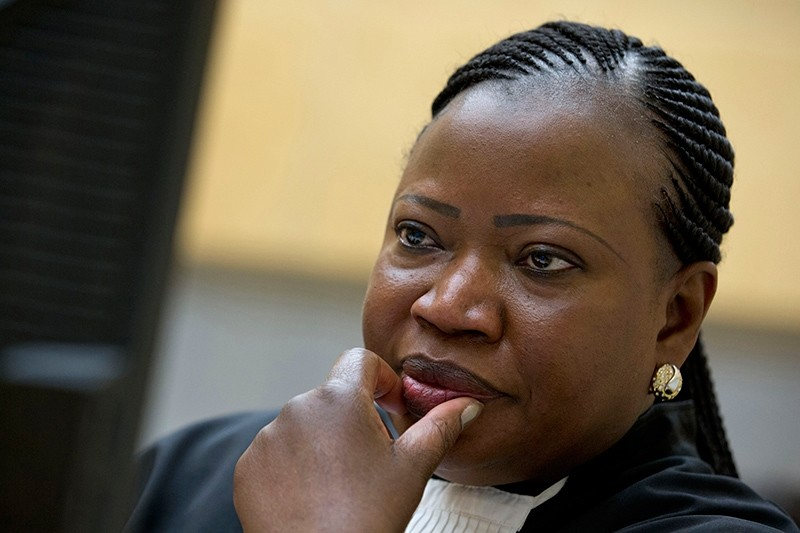 In this Nov. 27, 2013, file photo, prosecutor Fatou Bensouda waits for the start of the trial at the International Criminal Court (ICC) in The Hague, Netherlands. (AP Photo)