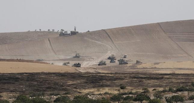 US-armed YPG targets Turkish tanks clearing Daesh in Jarablus, one soldier killed
