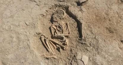 5,700-year-old child skeleton found in Arslantepe