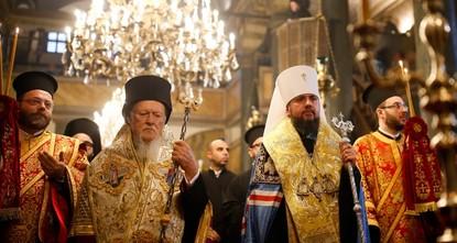 Ukrainian Orthodox church granted autocephaly