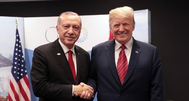 الرئيس الأمريكي يثني على العلاقات التركية الأمريكية